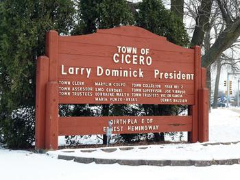 Se incrementa el agua en Cicero