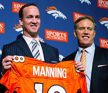 Manning se une a los Broncos