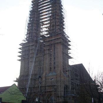 Costosas obras en la iglesia de San Pablo
