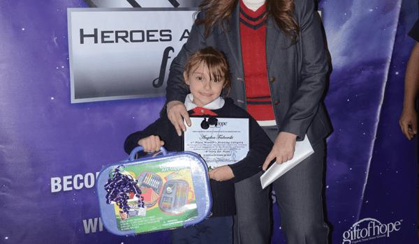 Gift of Hope inspirando a los niños