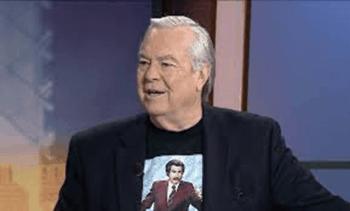 """Bill Kurtis, narrador de las dos películas """"Anchormen"""""""