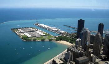 Posible inseguridad en planta tratadora de Chicago
