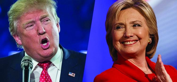 Clinton y Trump, muy cerca de la nominación